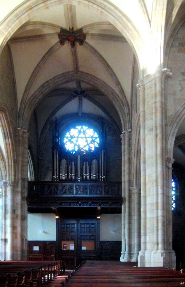 Órgano Cavaillé-Coll Mutin (1901) de la Iglesia de San Severino de Balmaseda