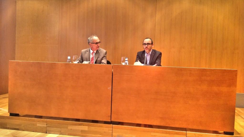 La iniciativa ha sido presentada por Ibon Aranbarri, director general de la BOS, y Borja Pujol, director técnico.