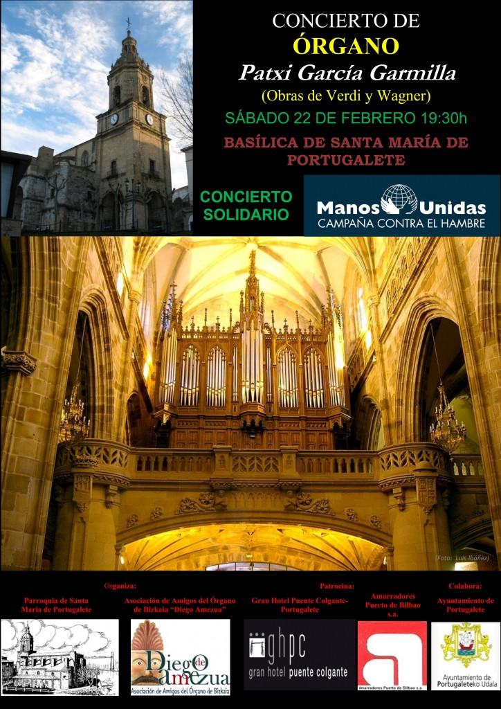 Concierto Órgano Verdi-Wagner (Portugalete, Patxi García Garmilla)