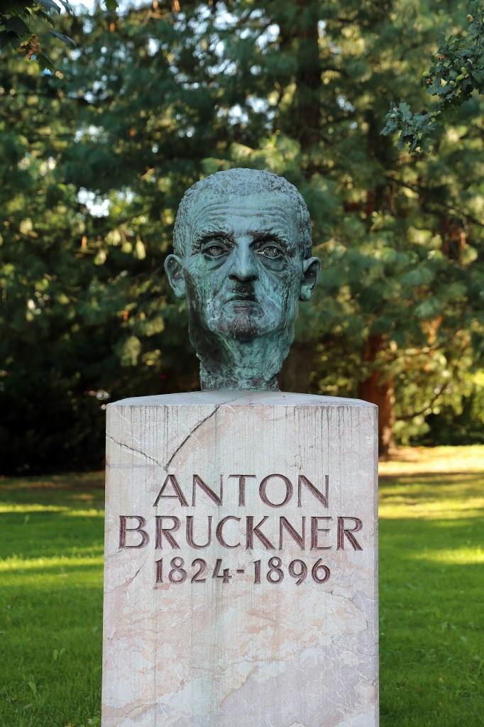 Busto en memoria de Anton Bruckner en la ciudad austríaca de Linz. Fotografía: Manfred Werner (CC-by-sa 3.0)