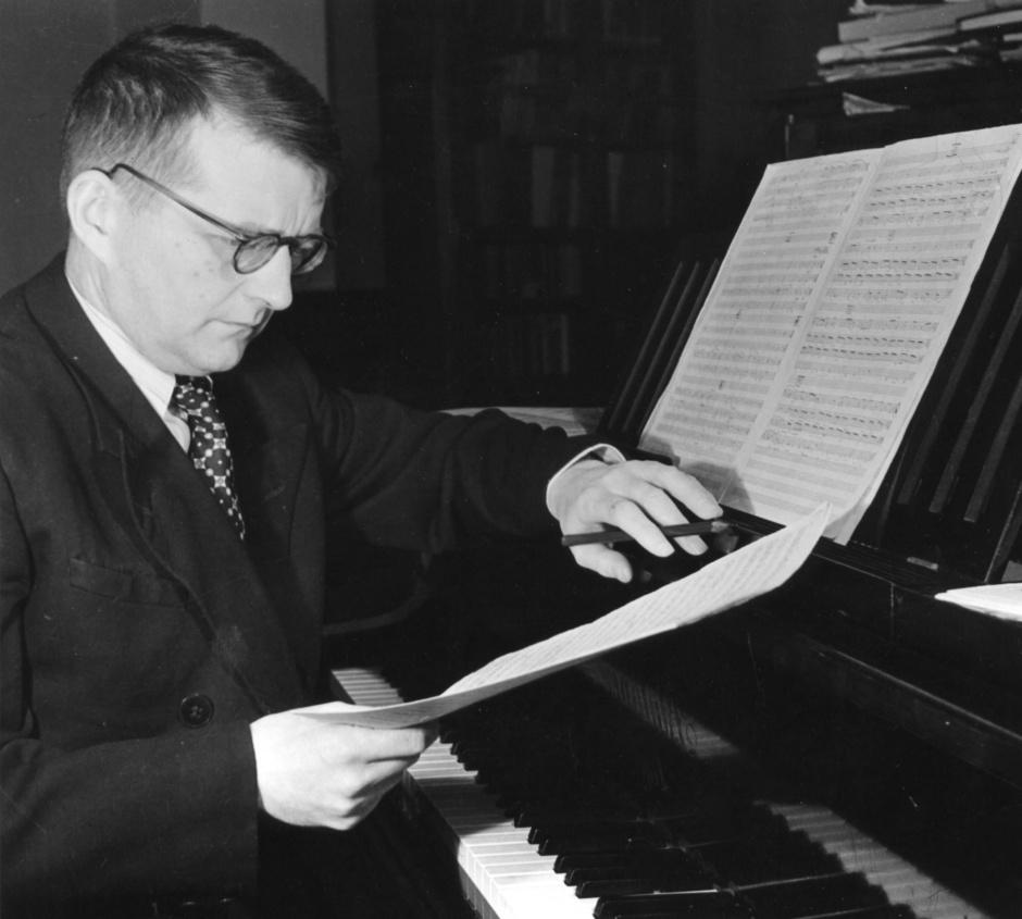 El compositor soviético Shostakovich. Foto: http://galeri7.uludagsozluk.com/272/dmitri-shostakovich_502286.jpg