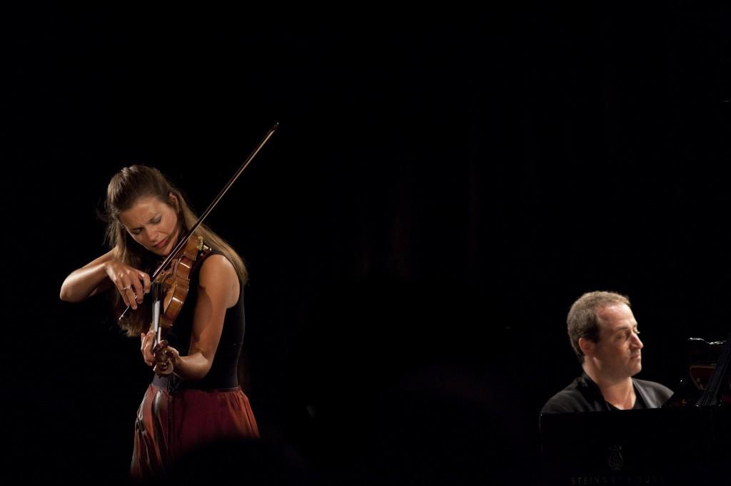 Janine Jansen e Itamar Golan Foto: © Aline Paley
