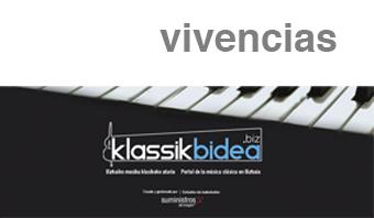 La afición cuenta la música en Klassikbidea