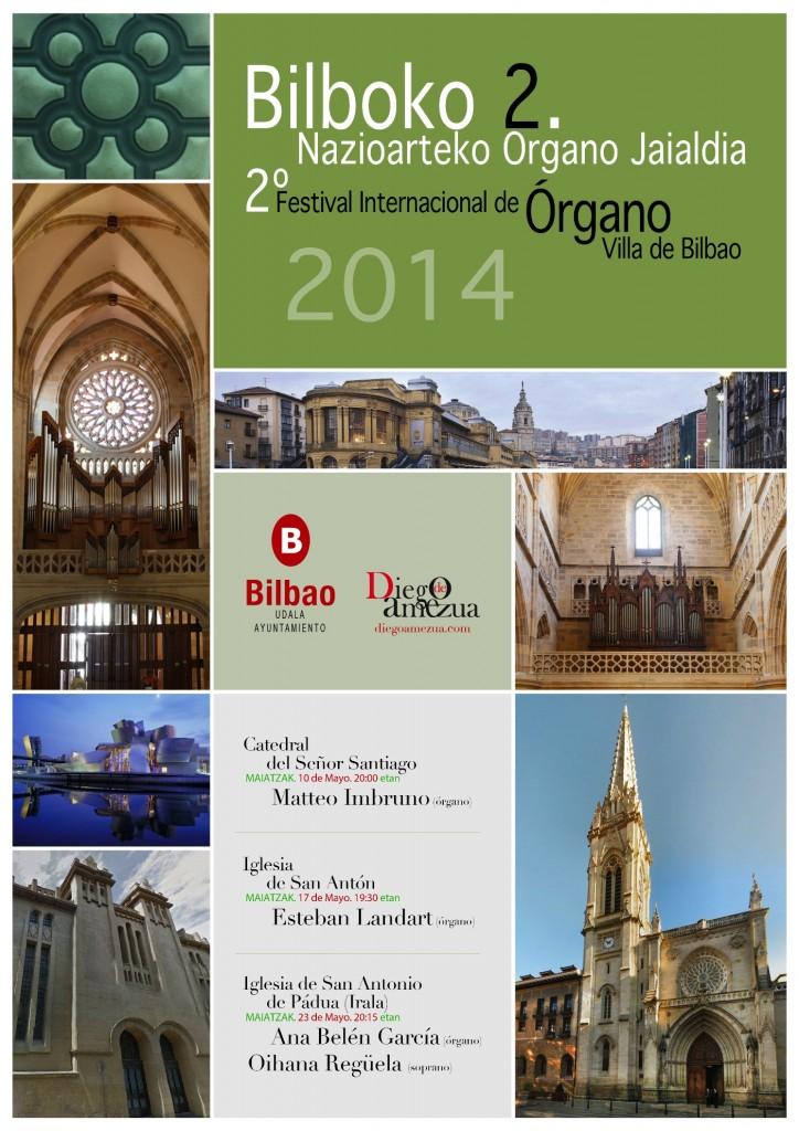 Bilboko 2. Nazioarteko Organo Jaialdia - 2º Festival Internacional de Órgano Villa de Bilbao 2014 pequeño