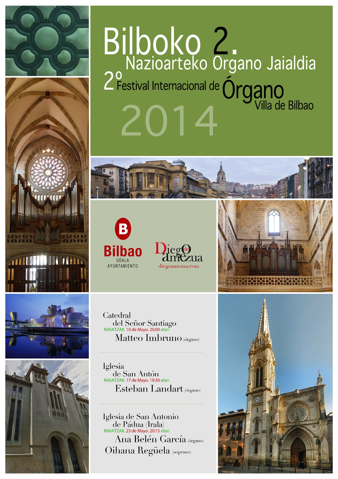 Tres siglos de Órgano y voz