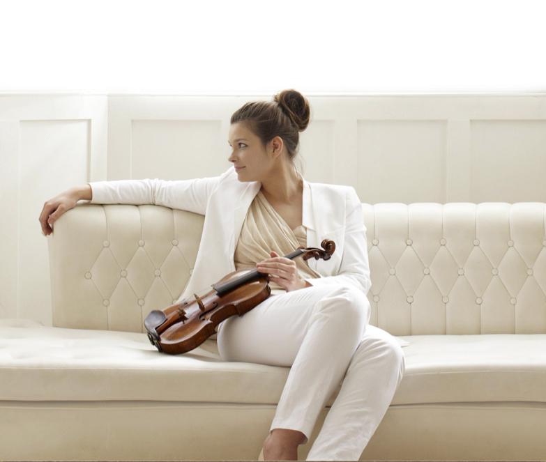 La violinista Janine Jansen Foto: © 2014 Decca / Universal Music.