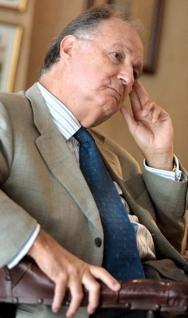Asís Aznar, presidente de la Sociedad Filarmónica de Bilbao Foto: Luis Ángel Gómez / El Correo