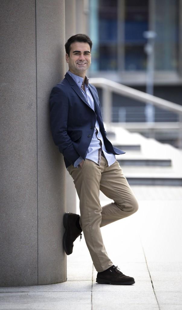 El joven maestro Jon Malaxetxebarria Fotografía: Tom Bangbala