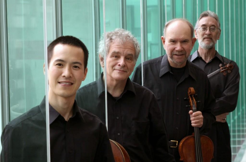 El Juilliard String Quartet: Joseph Lin, Joel Krosnick, Roger Tapping y Ronald Copes.   Foto: ©  J. Sherman