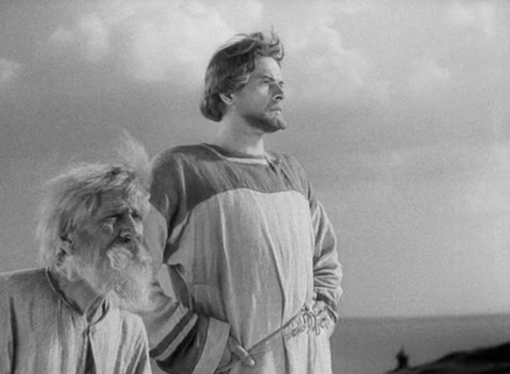 Fotograma del filme correspondiente al N. 2 de la Cantata. Fotografía: Eduard Tisse