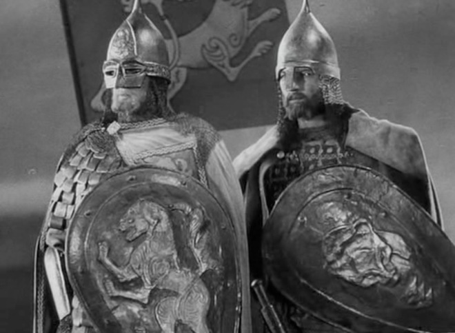 "Fotograma del filme ""Alexander Nevsky"", de Sergei Eisenstein. Fotografía: Eduard Tisse"
