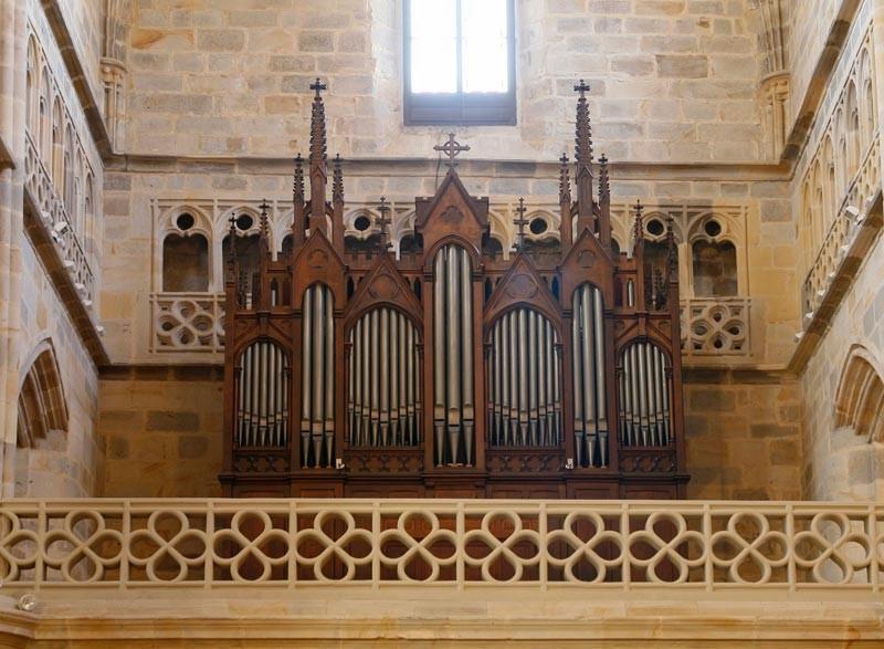 Órgano de la iglesia de San Antón. Cavaillé-Coll-Mutin (París 1901) (Foto: Pablo Cepeda)