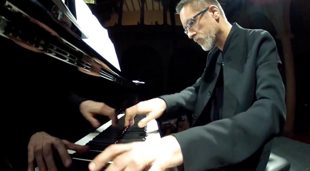 Aurelio Viribay, en el IV Festival Internacional Ciudad de Trujillo. Foto: YouTube