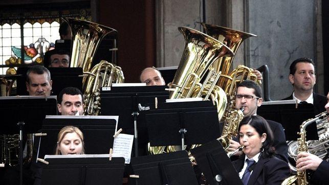 La Banda Municipal de Bilbao rinde homenaje a la música vasca en Madrid