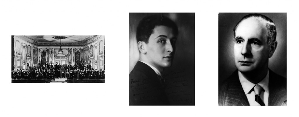 Armand Marsick, Vladimir Golschmann eta Jesús Arámbarri