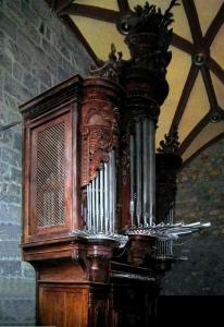 Órgano barroco (1765) de Mañaria