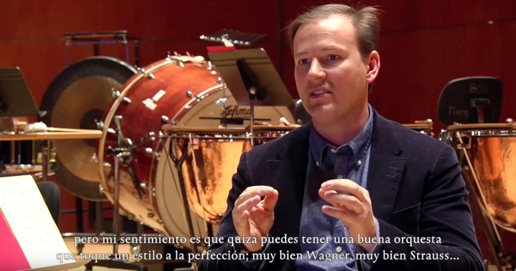 El maestro Erik Nielsen. Foto: canal YouTube de la BOS
