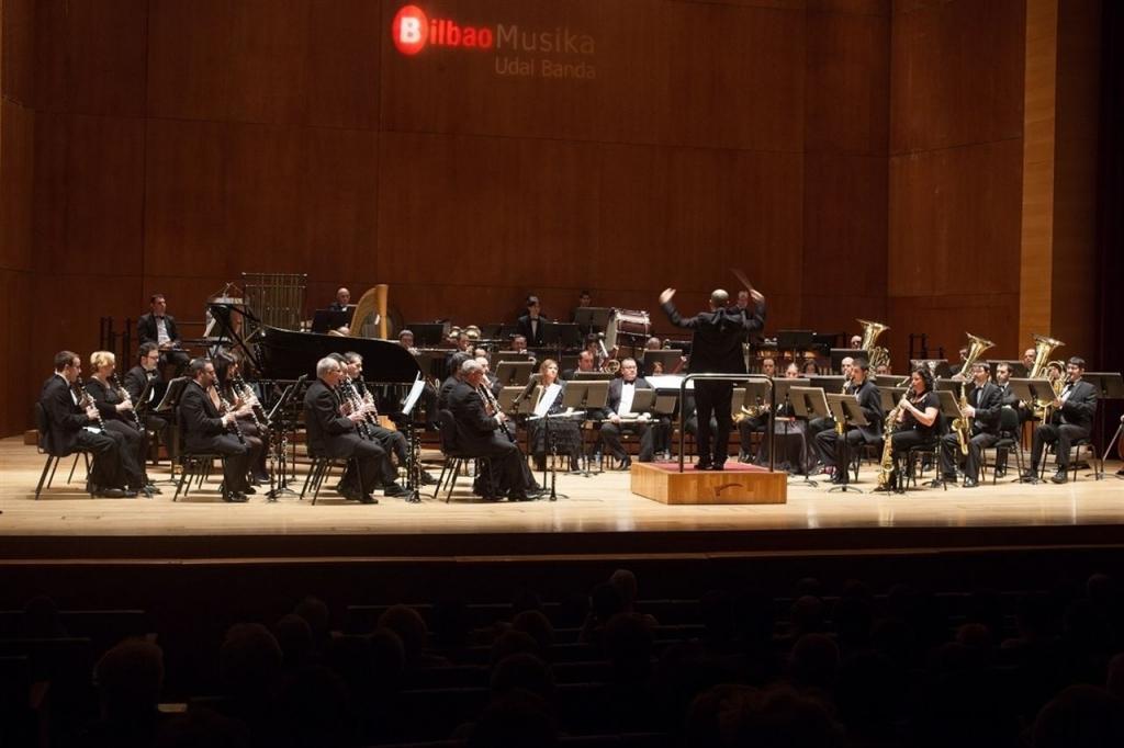 Banda de Musica de Bilbao. Foto: Bilboko Udala