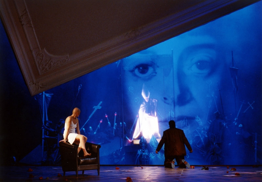 """Die tote Stadt"", de Erich Korngold. ABAO.OLBE, 2012. Escena: Willy Decker. Foto: @Enrique Moreno Esquivel"