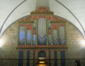 Órgano Klais (2007) de San Pedro de Loiu. Foto: Pablo Cepeda