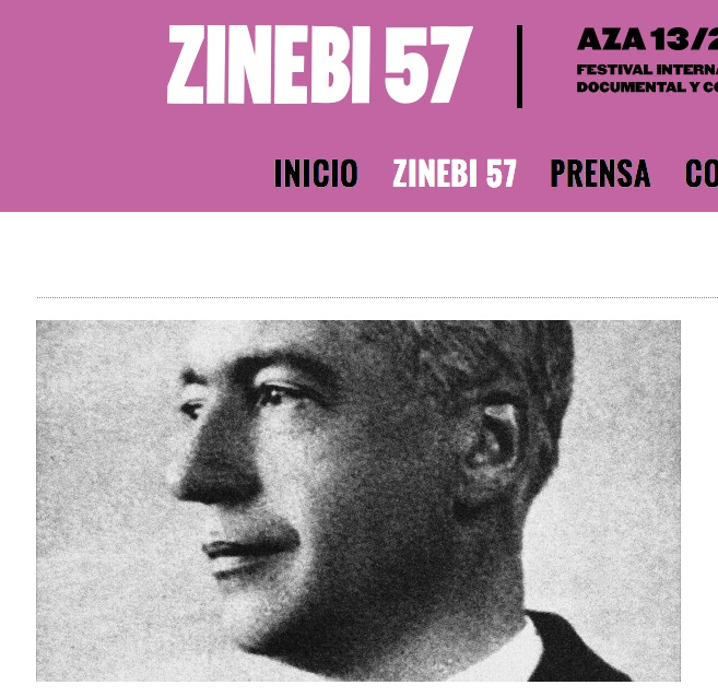 Andrés Isasi en la web de Zinebi