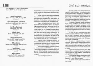 PROGRAMA CONCIERTO JOSÉ LUIS ECHECHIPÍA. LOIU, 28-XI-2015