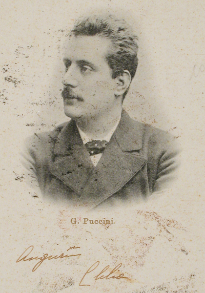 G. Puccini. Fuente: www.puccinimuseum.org