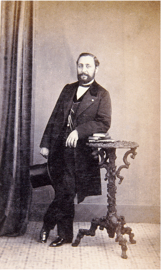 Francisco Asenjo Barbieri hacia 1855. Fuente: http://recursos.march.es
