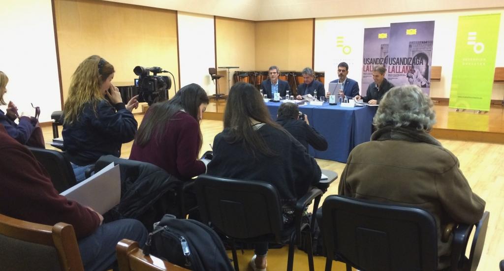 De izda. a drcha., oriol Roch, Joxean Muñoz, Eneko Goia y Juan José ocón