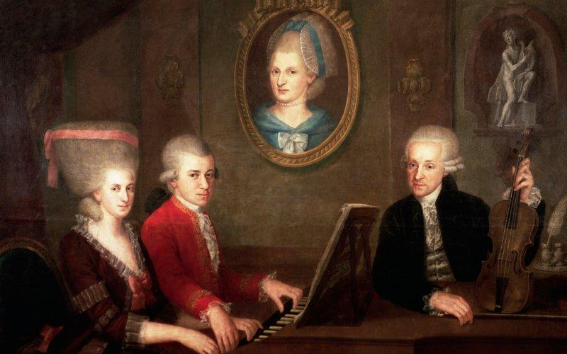 W.A. Mozart. Alfredo Dagli Orti, The Art Archive, via Corbis