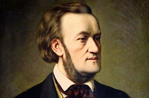 R. Wagner retratado en 1862 por Christian Willich. Foto: REM