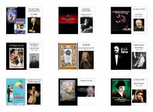 Temas musicales que aparecen en diversas películas de cine.