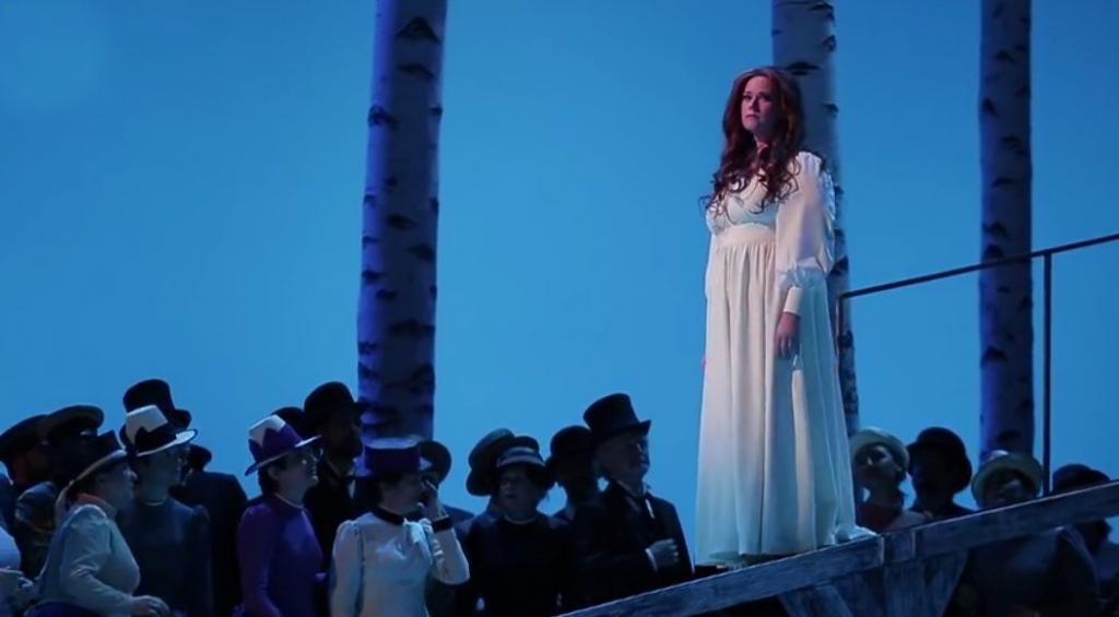 Jessica Pratt, protagonista de La Sonnambula. Foto: Enrique Moreno Esquibel / ABAO-OLBE
