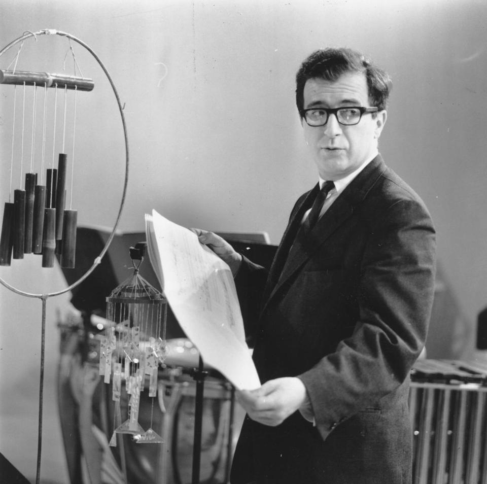 El compositor Luciano Berio. Foto: Erich Auerbach