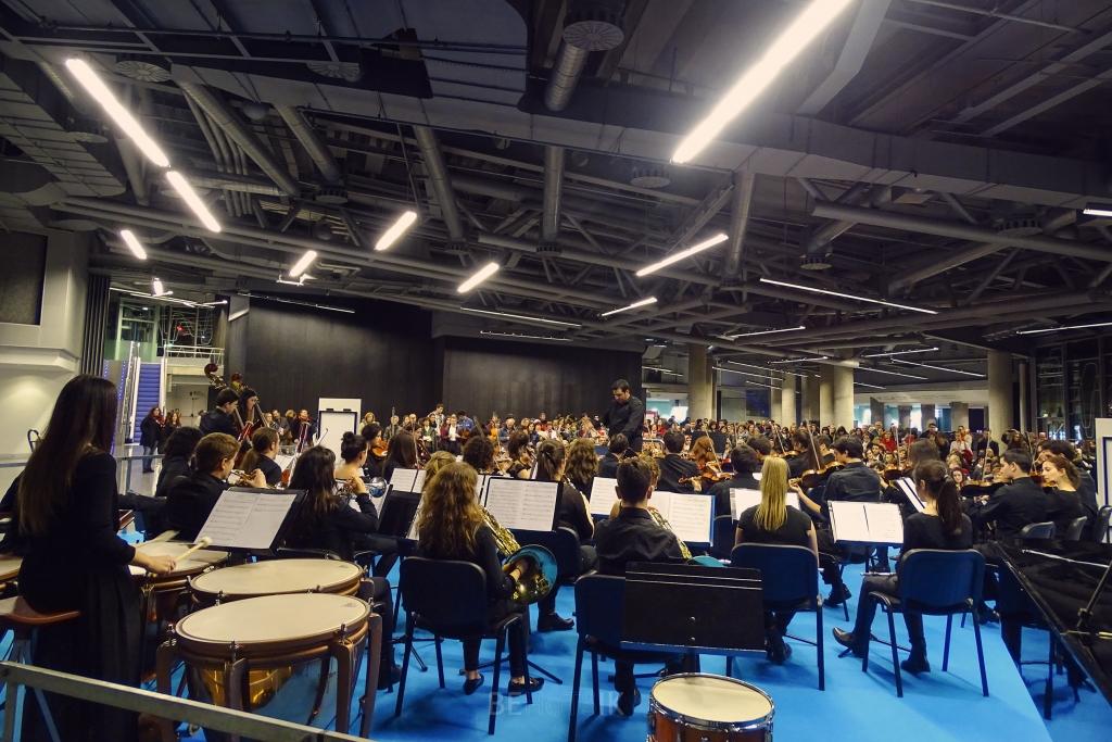 La Orquesta Behotsik en la última edición de Musika-Música