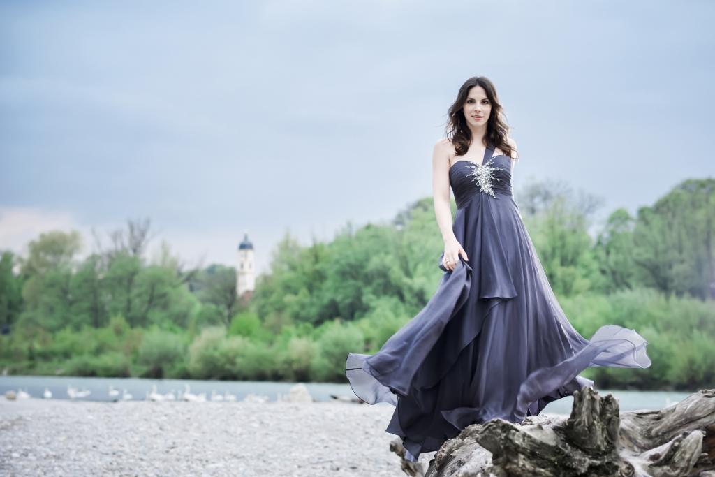 La soprano alemana HannaÉlisabeth Müller. Foto: www.hannaelisabethmueller.de