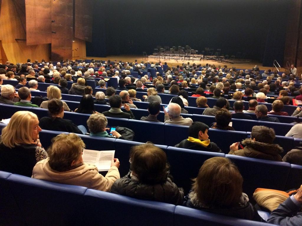 Las salas, llenas en numerosos conciertos.