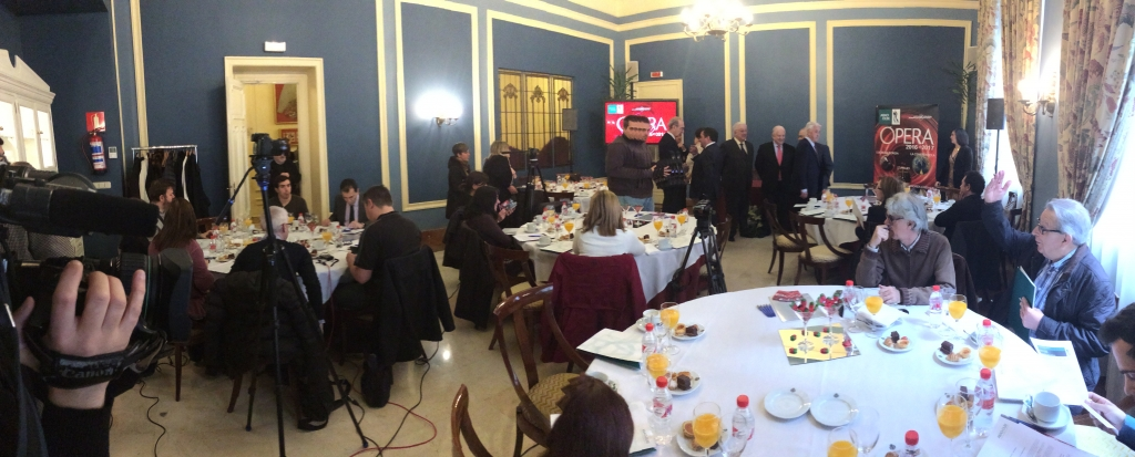 Momentos previos a la rueda de prensa. Foto: Klassikbidea
