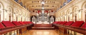 Órgano del Ayuntamiento de Sydney (William Hill&sons, 1890) uno de los muchos instrumentos construidos como elemento de