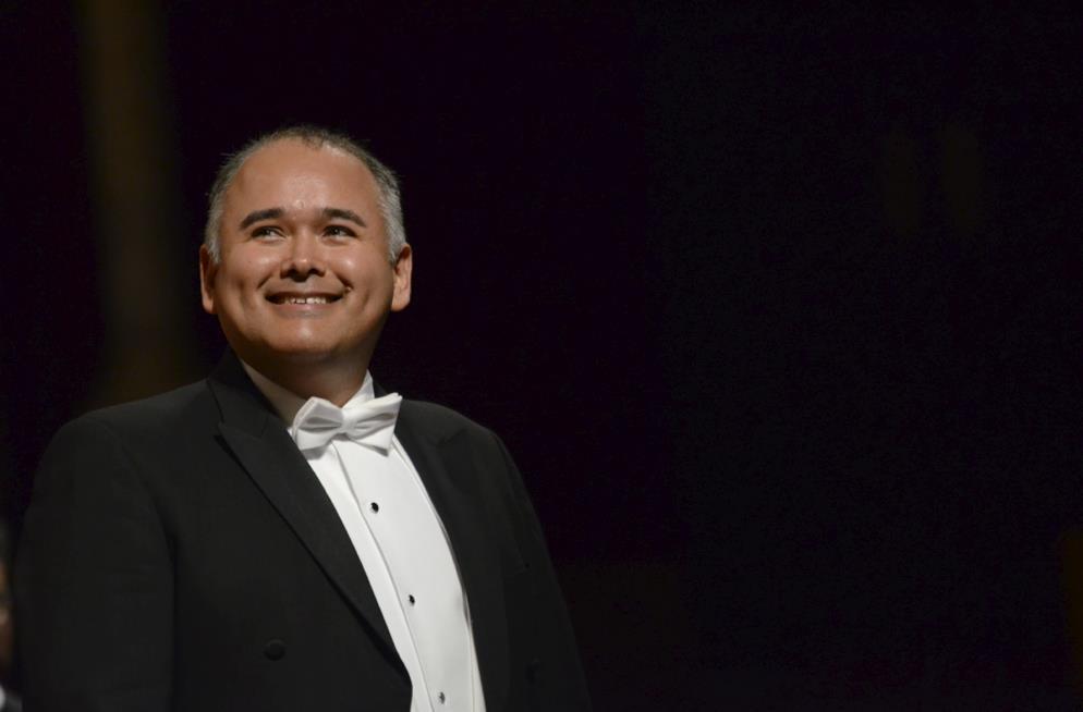 Javier Camarena, tenor. Foto: Julián @ABAO-OLBE