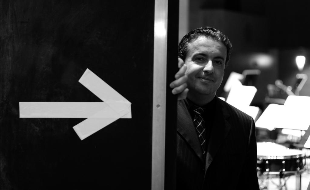 Juanjo Mena, Director Titular de la Orquesta Sinfónica de Bilbao (BOS). © Mitxel Atrio / El Correo 07/06/07