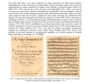 Conciertos Bach