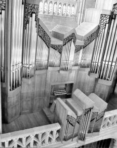 Órgano de la Catedral de Santiago. Foto. Patxi García Garmilla.