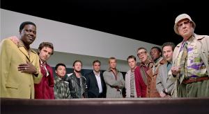 El equipo perfecto. Fotograma de Ocean's eleven (Warner Bros 2001)