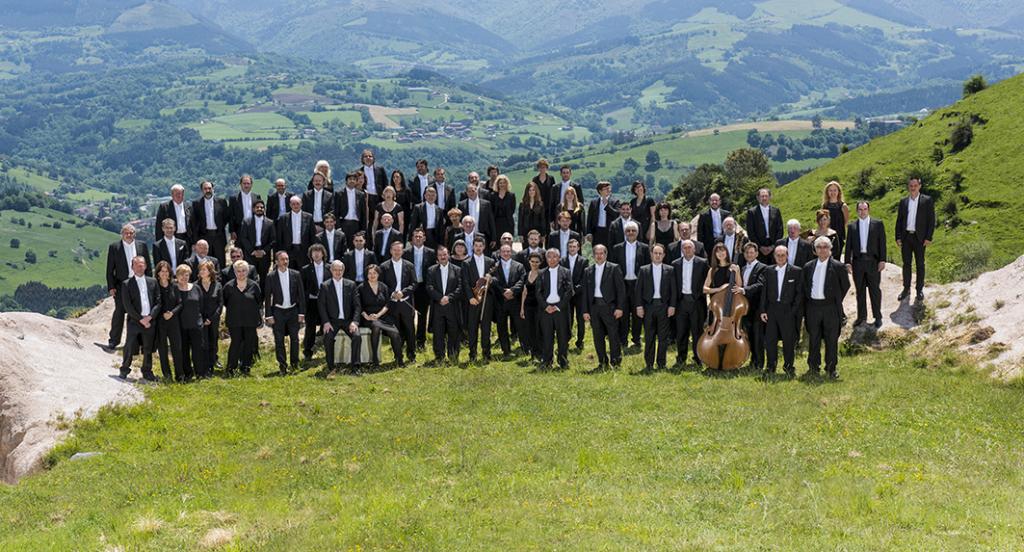 Orquesta Sinfónica de Bilbao. Foto: Enrique Moreno Esquibel / BOS