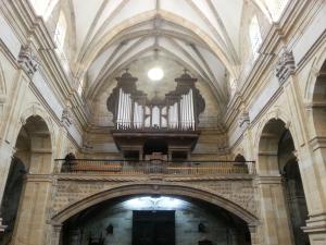 Órgano Walcker (1943) de la Basílica de Santa María de Durango. (Foto: Pablo Cepeda)