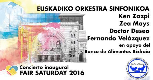 Lleno hasta la bandera en el concierto prólogo de Fair Saturday