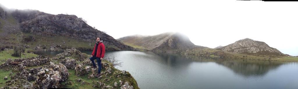 Xabier Oteolea en Picos de Europa. Foto: perfil Twitter