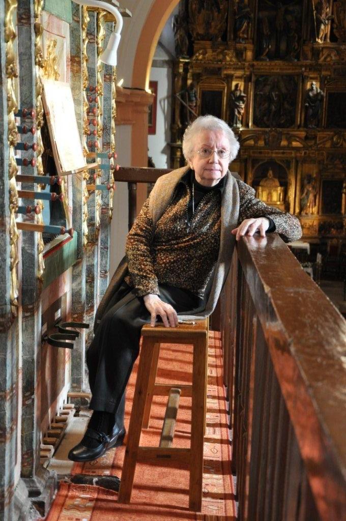 Homenaje a Montserrat Torrent con motivo de sus dos conciertos en San Sebastián