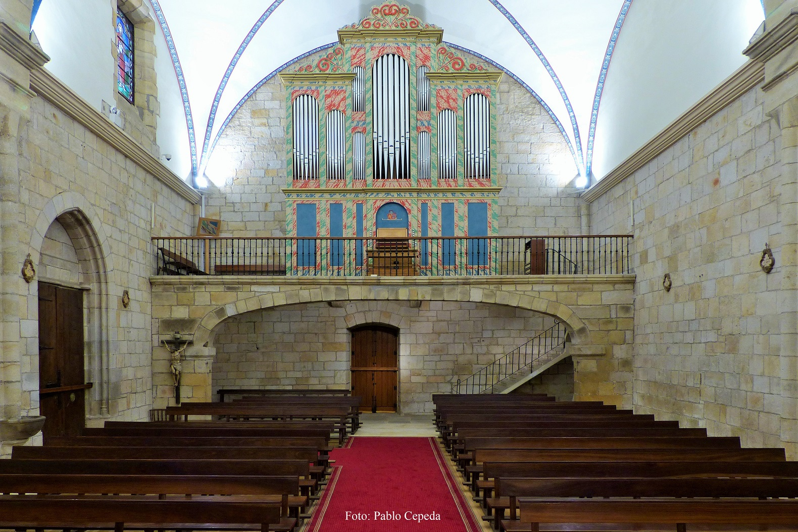 Loiu: concierto de órgano de Jesús Martín Moro pro Fair Saturday
